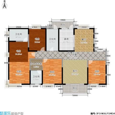 紫薇永和坊4室1厅3卫1厨247.00㎡户型图