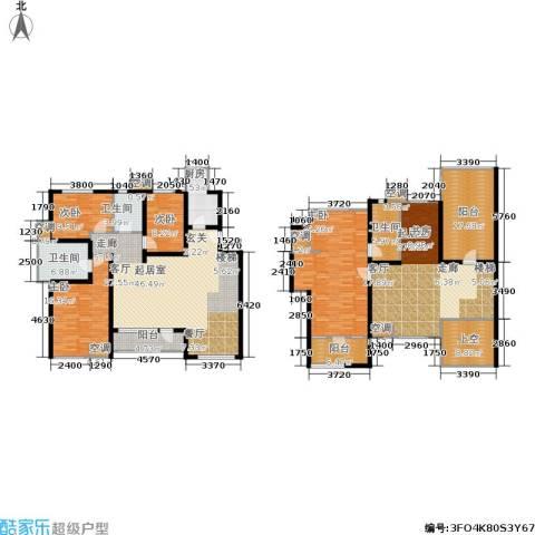中齐未来城4室0厅3卫1厨235.00㎡户型图
