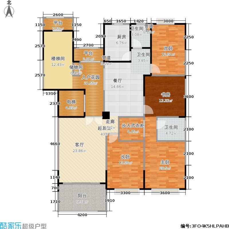 锦绣世纪一期9号栋-158.28平米户型