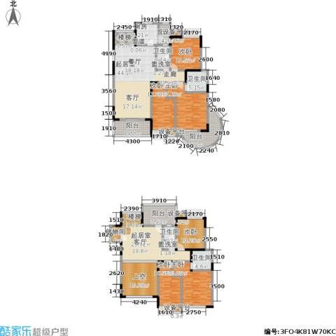 卧龙湾6室0厅4卫1厨228.00㎡户型图