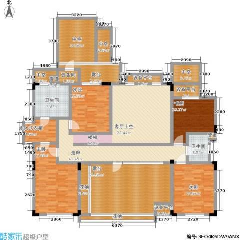 万科城4室0厅2卫0厨170.06㎡户型图