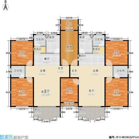 德润园5室2厅4卫2厨233.00㎡户型图