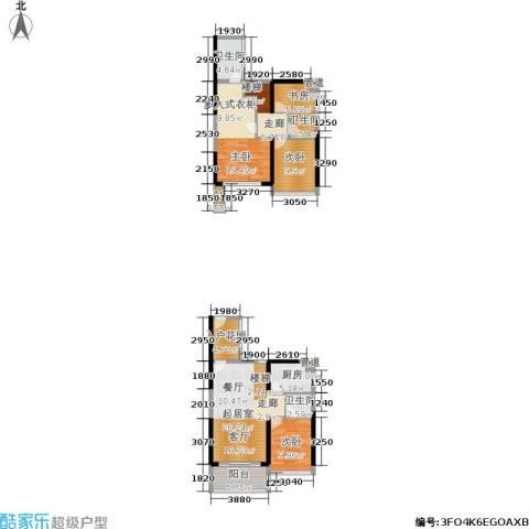 绿景香颂4室0厅3卫1厨102.48㎡户型图