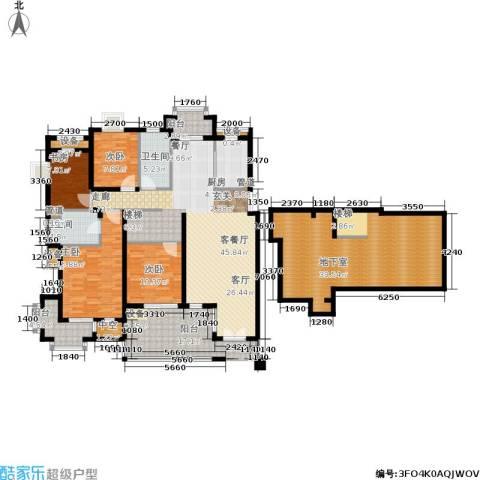 郡原居里4室1厅2卫1厨217.00㎡户型图