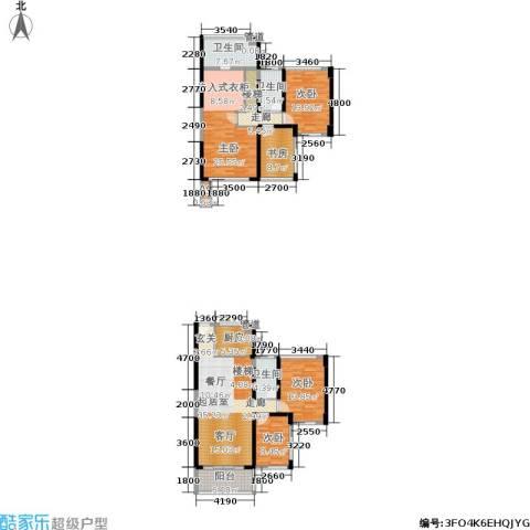 绿景香颂5室0厅3卫1厨140.20㎡户型图