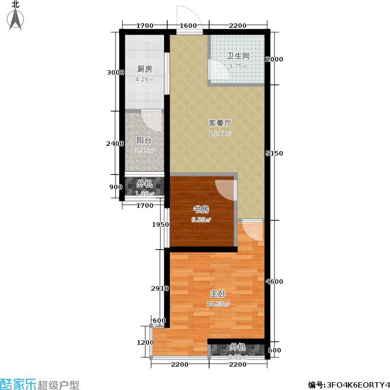 东泰城市之光东泰城市之光户型图东泰城市之光A2户型2室1厅1卫1厨61.37㎡(9/27张)户型10室