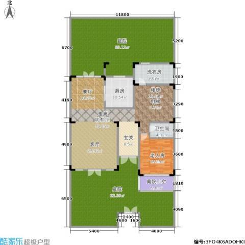 紫薇永和坊1室1厅1卫1厨346.00㎡户型图