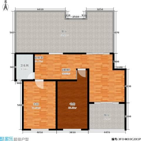 贝越流明新苑2室0厅1卫0厨170.00㎡户型图