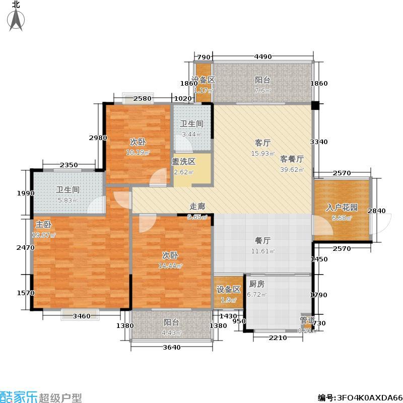 鑫天山城明珠12栋D1-户型