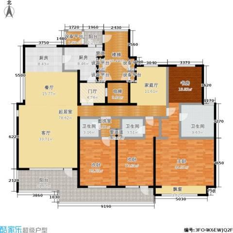 8哩岛3室0厅3卫1厨260.00㎡户型图
