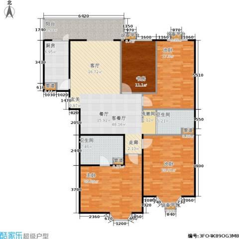 甘露家园4室1厅2卫1厨148.00㎡户型图
