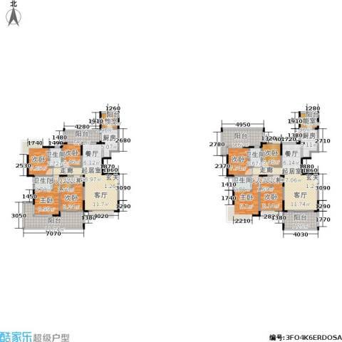 圣莫丽斯三期8室0厅4卫2厨210.00㎡户型图