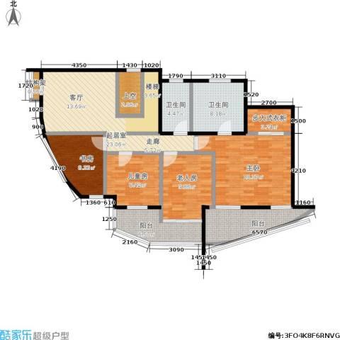 世爵源墅4室0厅2卫0厨196.00㎡户型图