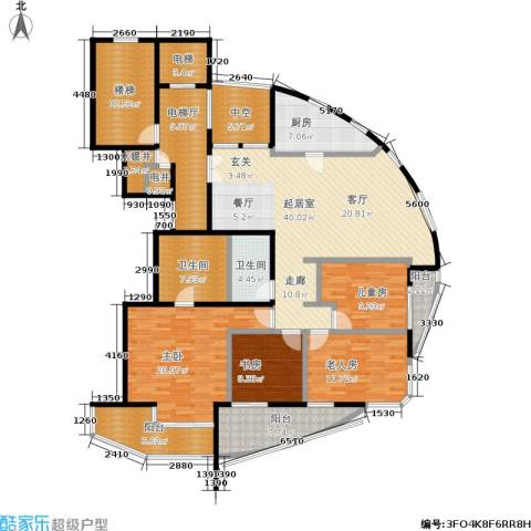 世爵源墅4室0厅2卫1厨160.00㎡户型图