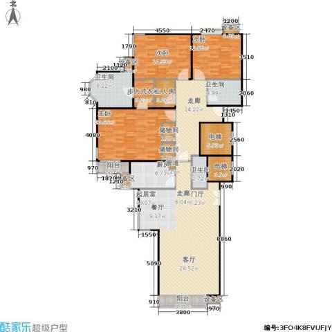 东润枫景3室0厅3卫1厨179.00㎡户型图