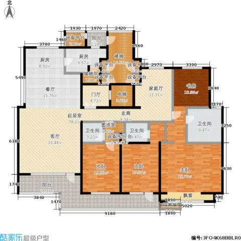 8哩岛3室0厅3卫1厨254.00㎡户型图