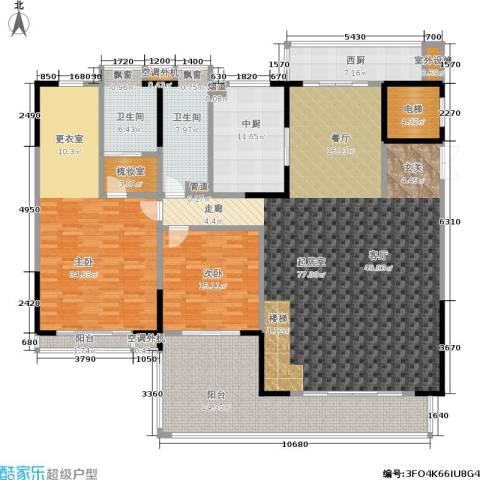 归心苑2室0厅2卫0厨355.00㎡户型图