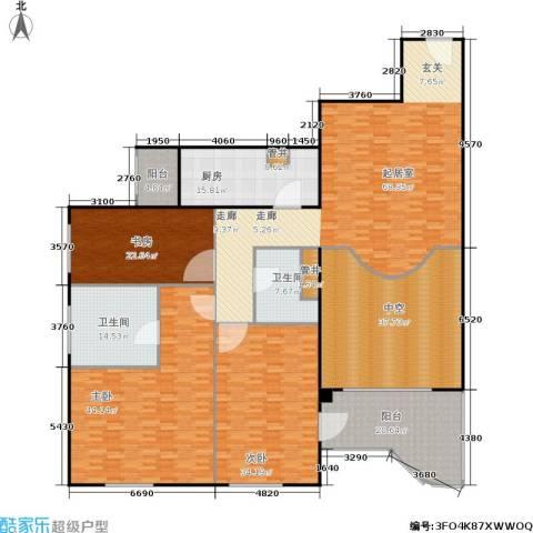 天创世缘3室0厅2卫1厨288.00㎡户型图