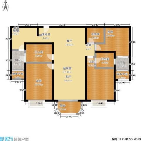 太原合生国际城3室0厅2卫0厨200.00㎡户型图