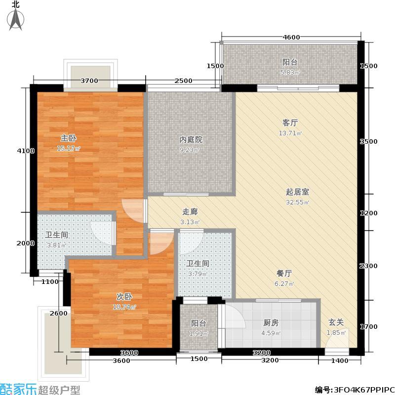 天筑丽城天筑丽城户型图(3/6张)户型10室