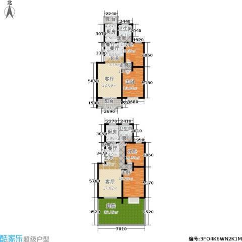 纯翠上南4室2厅2卫2厨185.82㎡户型图