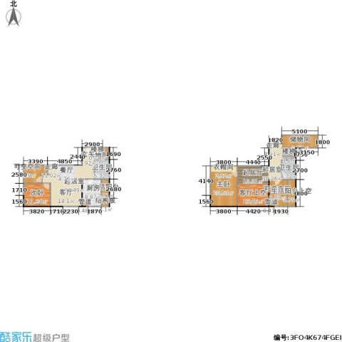 智地哥谭2室0厅2卫1厨155.91㎡户型图