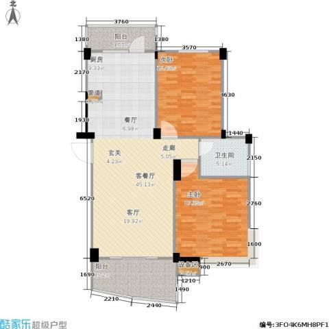富弘苑2室1厅1卫0厨131.00㎡户型图