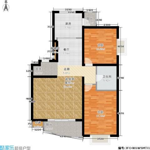 上海阳城2室0厅1卫1厨105.00㎡户型图