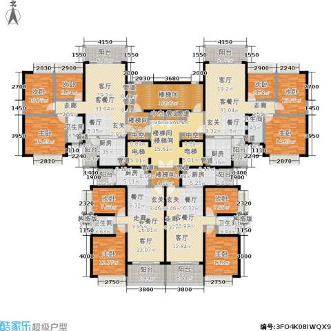 恒大绿洲9室4厅4卫4厨349.29㎡户型图