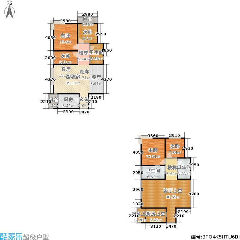 慕和南道160.00㎡慕和南道户型图4幢户型(2/2张)户型10室