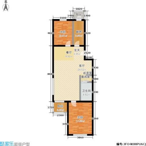 农光里小区2室0厅1卫1厨97.00㎡户型图