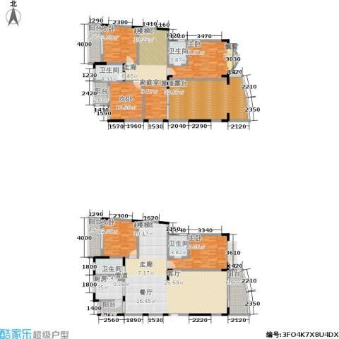 书香名邸5室0厅4卫1厨229.57㎡户型图