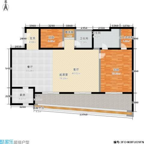旺座中心2室0厅2卫1厨187.00㎡户型图