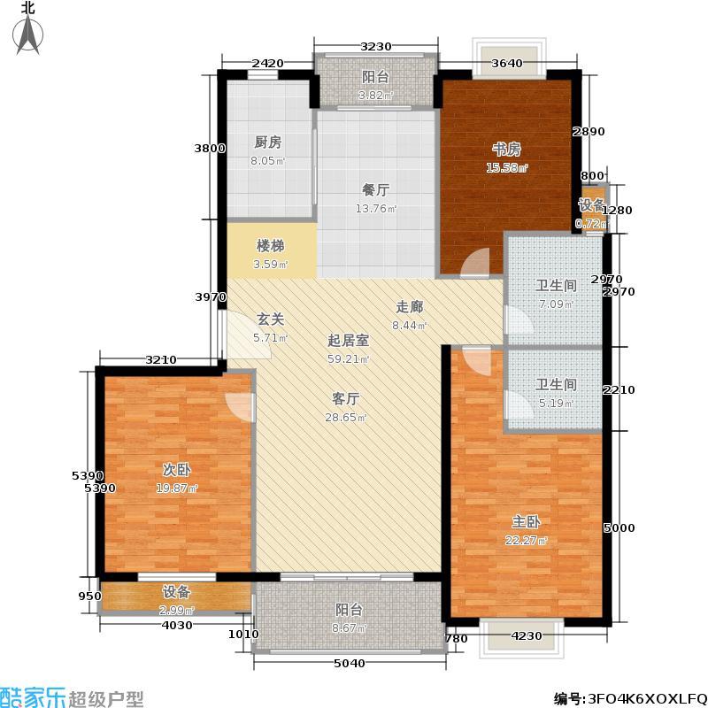 月夏香樟林168.00㎡房型: 复式; 面积段: 168 -225 平方米; 户型