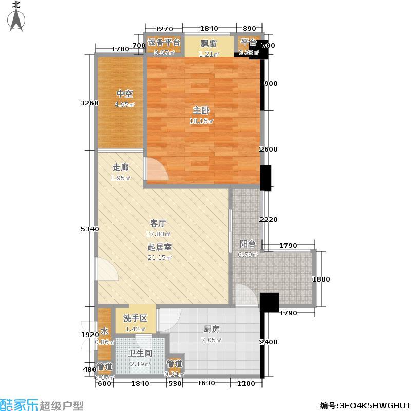 上城国际75.20㎡上城国际户型图B3(12/18张)户型10室