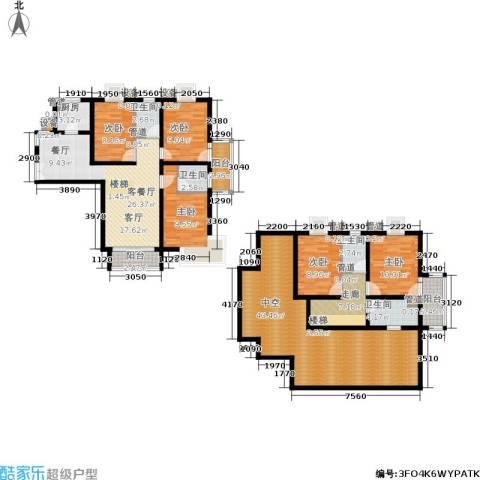 泰宸舒庭5室1厅4卫1厨173.00㎡户型图