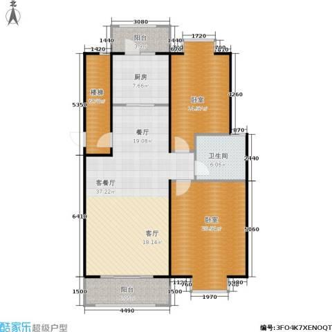 塞纳名邸1厅1卫1厨103.55㎡户型图