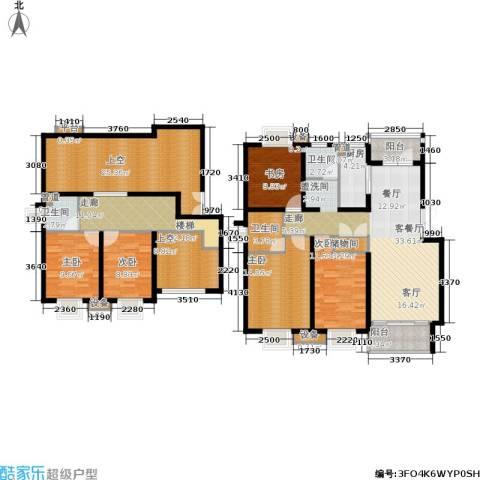 泰宸舒庭5室1厅3卫1厨173.00㎡户型图