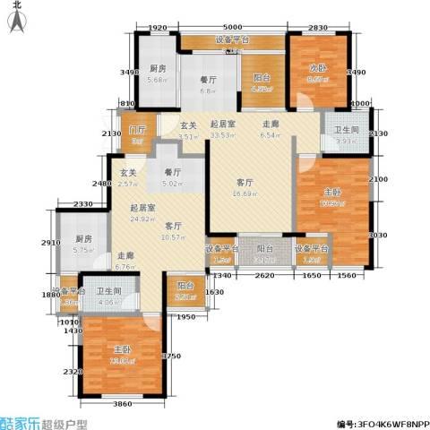 印象春城3室0厅2卫2厨194.00㎡户型图