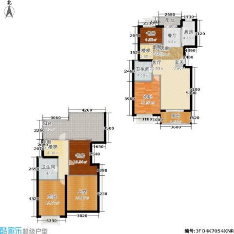 新空间家园4室0厅2卫1厨154.50㎡户型图