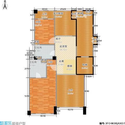 紫园2室0厅2卫0厨152.00㎡户型图