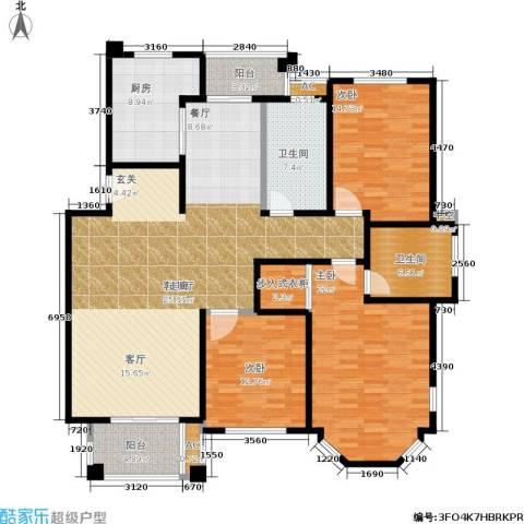 海上普罗旺斯3室1厅2卫1厨193.00㎡户型图