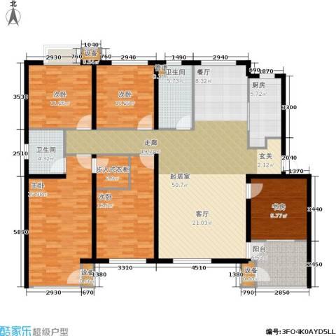 唯美尚品5室0厅2卫1厨175.00㎡户型图