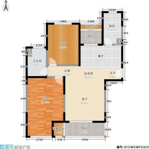 印象春城2室0厅1卫1厨110.00㎡户型图