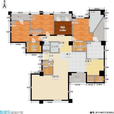 嘉业国际城4室0厅5卫1厨418.00㎡户型图