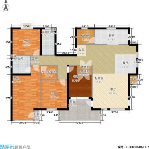 唯美尚品4室0厅2卫1厨182.00㎡户型图