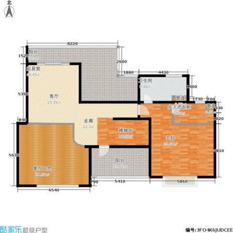城市艺术季1室0厅1卫0厨180.00㎡户型图