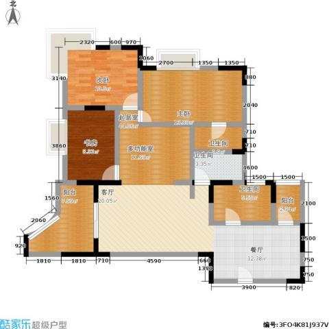 远景天下3室0厅3卫0厨144.00㎡户型图