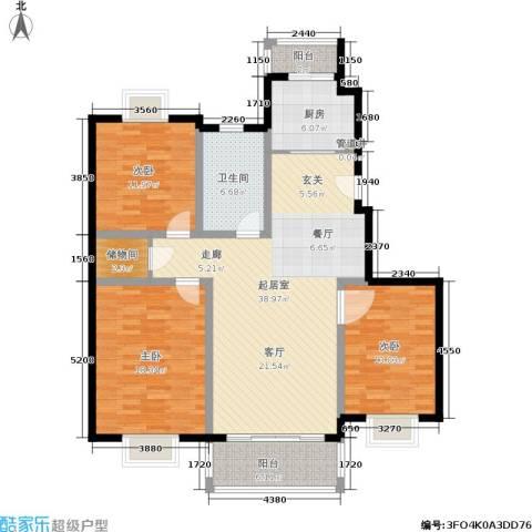 吉利名苑3室0厅1卫1厨150.00㎡户型图