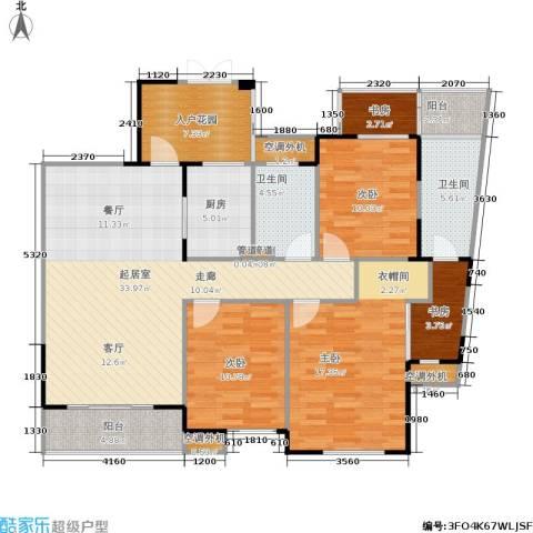 嘉年华国际社区5室0厅2卫1厨121.00㎡户型图